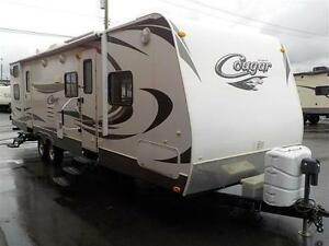 2012 Cougar 31SQB Travel Trailer