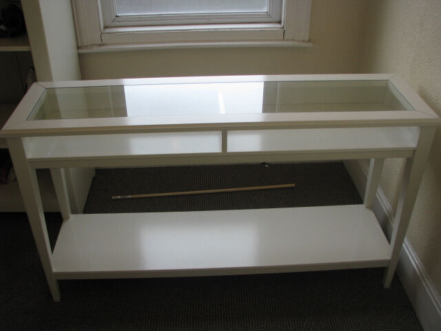 IKEA Liatorp Console Table White Glass in Brislington  : 86 from www.gumtree.com size 640 x 480 jpeg 31kB