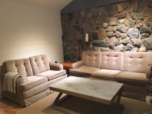 FREE: 3 Pull-Out Couches and a Club Chair