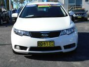 2012 Kia Cerato TD MY12 S White 6 Speed Automatic Hatchback Tuggerah Wyong Area Preview