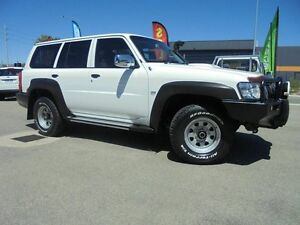 2011 Nissan Patrol GU 7 MY10 DX White 5 Speed Manual Wagon Welshpool Canning Area Preview