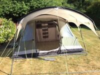 Outwell Montana 6 - 6 Man Tent (with carpet, sun canopy and extra ground sheet)
