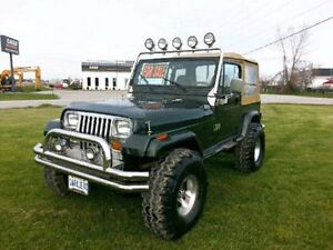 1995 Jeep YJ Sahara 4 x 4 excellent condition 12yr same owner