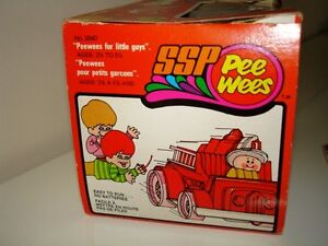 1970s SSP PEE WEES FIREFIGHTER RACER in RARE original box RARE Cambridge Kitchener Area image 3