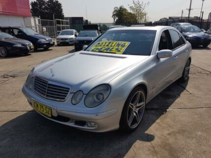 2002 Mercedes-Benz E320 W211 Elegance Silver 5 Speed Automatic Sedan