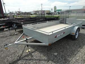 Galvanized 12 foot utility trailer: $430/payment