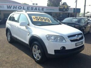 2008 Holden Captiva CG MY08 CX (4x4) White 5 Speed Automatic Wagon