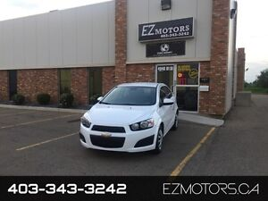 2013 Chevrolet Sonic LT=LOW KMS=WARRANTY=BLUETOOTH