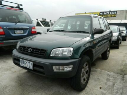 1998 Toyota RAV4 (4x4) Green 5 Speed Manual 4x4 Wagon Williamstown North Hobsons Bay Area Preview