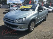 2005 Peugeot 206 CC Blue 4 Speed Tiptronic Cabriolet Lansvale Liverpool Area Preview