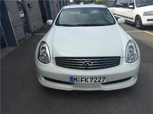 INFINITI G35 COUPE 2007 108000KM MANUAL