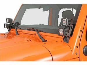RIGID 2007-2015 Jeep JK Dual D-Series A-Pillar Mount Kit