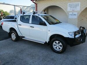 2013 Mitsubishi Triton MN MY14 Update GLX (4x4) White 4 Speed Automatic 4x4 South Nowra Nowra-Bomaderry Preview