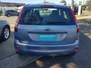 2006 Ford Fiesta WQ LX Blue 4 Speed Automatic Hatchback Revesby Bankstown Area Preview
