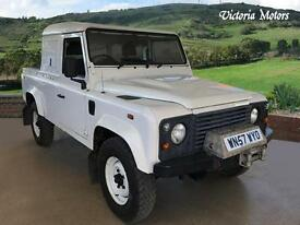 2007 LAND ROVER DEFENDER 110 COUNTY SC PU Nice Miles