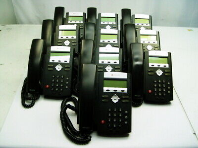 Lot Of 10 Polycom Soundpoint Ip 335 Voip Business Phones