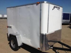 CLEAR OUT - 2016 Homesteader Fury 5x8 Enclosed