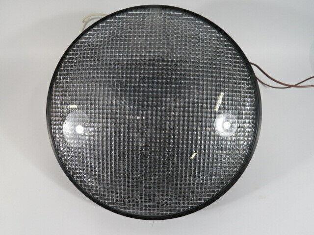"Dialight 433-2270-001XLT Green Traffic Signal 120VAC 12"" USED"
