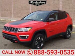 2018 Jeep Compass 4WD TRAILHAWK Accident Free,  Navigation (GPS)