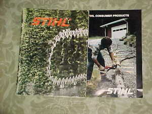 STIHL PRODUCT PLANNER , SAW CHAIN, BARS, SPROCKETS ETC.