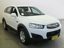 2012 Holden Captiva CG Series II 7 SX (FWD) White 6 Speed Automatic Wagon Westdale Tamworth City Preview