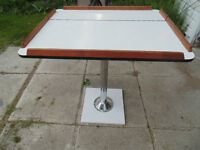 Boat Table, with base.  Great Shape. 100 or Best Offer.
