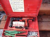 Hilti DX351 Fully automatic powder-actuated