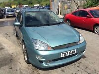 Ford Focus, starts and drives very well, 1 years MOT (runs out June 2017) full st body spec