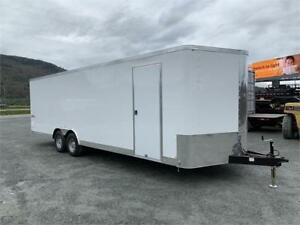 2019 8 1/2x24 TNT TRAX ENCLOSED CAR TRAILER 10,000lb