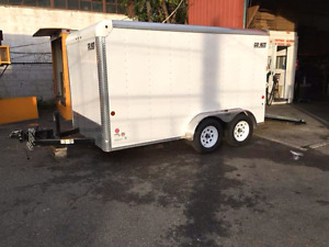 7x12 Carmate Custom Cargo enclosed trailer