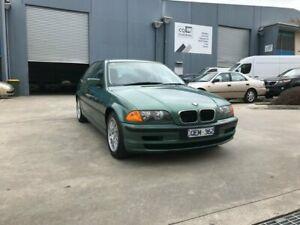 2000 BMW 318i E46 Green 4 Speed Auto Steptronic Sedan Newport Hobsons Bay Area Preview