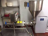 Filling machine and Air compressor
