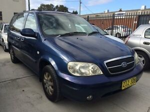 2004 Kia Carnival KV11 LS Blue 4 Speed Automatic Wagon Georgetown Newcastle Area Preview