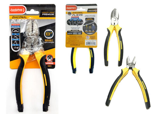 Diagonal Pliers Heavy Duty Cutting Metal Wires Cutters Nippers Snips 8 Inch