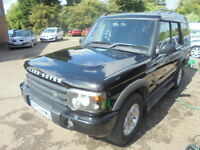 Land Rover Discovery GS TD5 7 seater (black) 2002