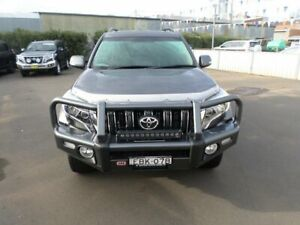2017 Toyota Landcruiser Prado GDJ150R Altitude Graphite 6 Speed Sports Automatic Wagon Young Young Area Preview
