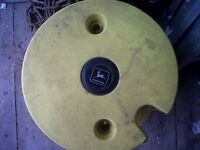 John Deere Tractor Tire Weight For Sale (never used )