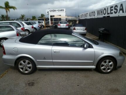 2001 Holden Astra TS Silver 5 Speed Manual Convertible