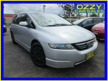 2006 Honda Odyssey 20 Silver 5 Speed Sequential Auto Wagon Minto Campbelltown Area Preview
