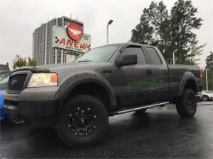 "2005 Ford F-150 XLT 4x4 Lifted 17"" Aftermarket Wheels ON SALE"
