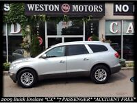 2009 Buick Enclave CX* 7PASS* ACC FREE* DEALER MAINTAINED