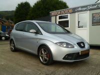 2006 SEAT LEON 140BHP STYLANCE SPORT ,full leather heated seats,# ALL MAJOR CREDIT CARDS EXCEPTED