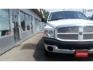 2007 Dodge Ram 1500 ST Hemi 4x4 Accident Free. remote starter.