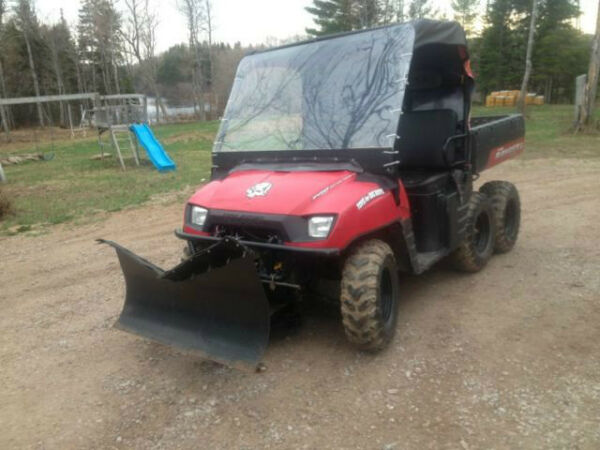 Used 2009 Polaris 2009 Polaris Ranger 6x6 700 EFI