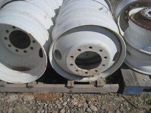 8.25x24.5 steel    8.25x22.5 aluminum wheel Regina Regina Area image 1