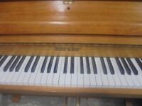 nice upright piano by zender