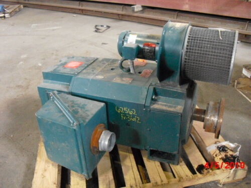 150 Hp Dc Reliance Electric Motor, 1750 Rpm, Lmc3612atz Frame, Dpfv, 250 V Arm.