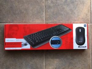 Microsoft Clavier-Souris sans fil / Wireless Keyboard-mouse