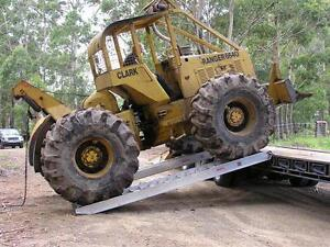 9 tonne capacity machinery ramps 3.6 metres x 500mm track width Telegraph Point Port Macquarie City Preview