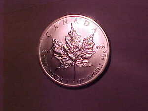 9999 Silver One Ounce Silver Maple Leaf 2012!!